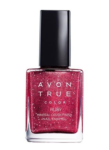 Avon Mark Mineral Crush Oje 10 Ml Ruby Kırmızı